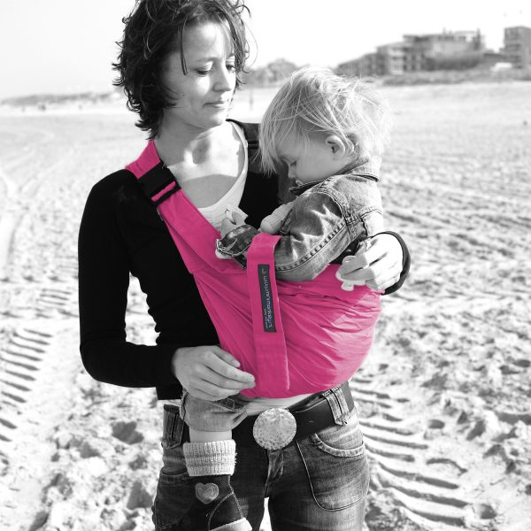 MiniMonkey Baby Sling in Hot Pink