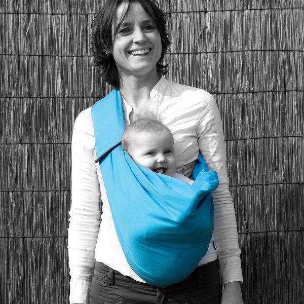 MiniMonkey Baby Sling in Turquoise